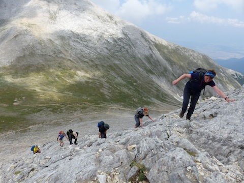 Hiking in the Pirin Mountains